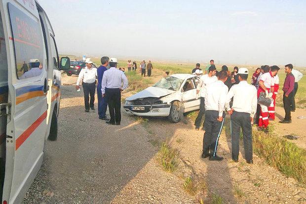 حوادث جاده ای در محورهای ساوه 2کشته برجای گذاشت، 7نفر مصدوم شدند
