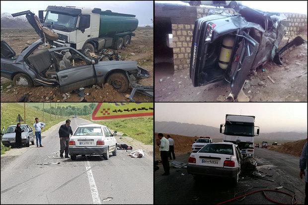 بیشترین فوتی ها در تصادفات امسال طی فروردین ماه با 22 کشته