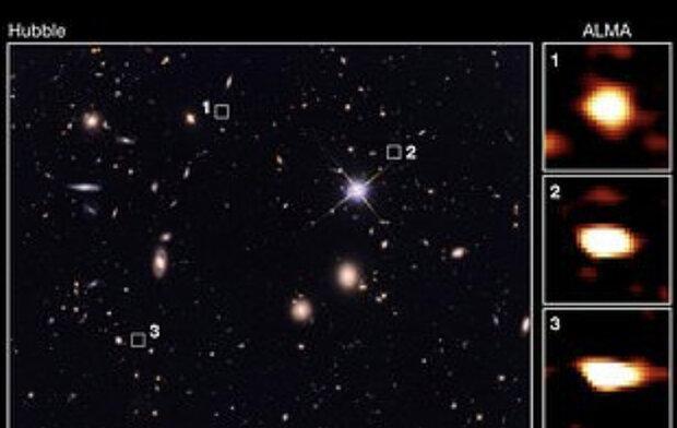 کشف 39 کهکشان ناشناخته در دنیا