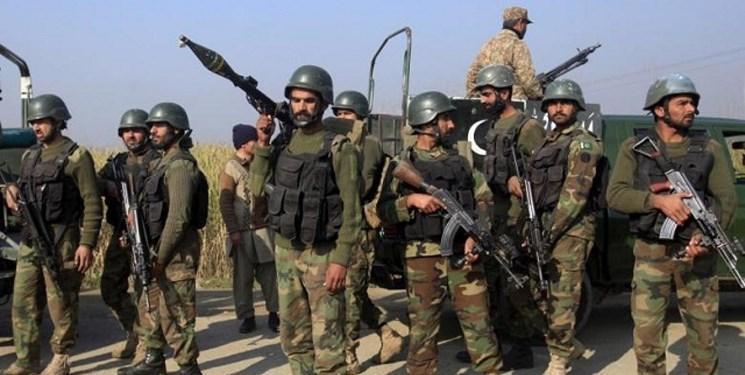 تجهیز پایگاه نظامی ارتش پاکستان مجاور مرز هند
