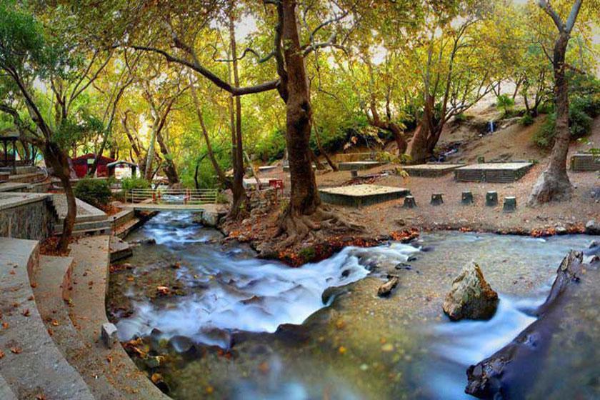 سراب گیان یکی از مکانهای گردشگری و توریستی در همدان