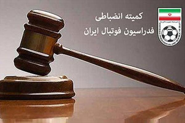 مربی تیم فوتبال ماشین سازی سه ماه محروم شد