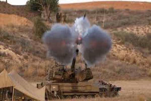 حملات توپخانه ای گسترده متجاوزان سعودی به الحدیده یمن