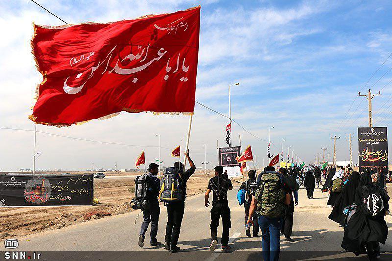 210 دانشجوی دانشگاه شیراز به راهی کربلا شدند