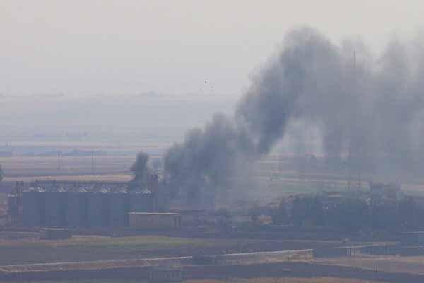 نبرد سنگین ارتش سوریه با ارتش ترکیه در تل الورد در حومه راس العین