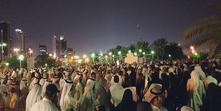 تظاهرات اعتراضی به کویت کشیده شد