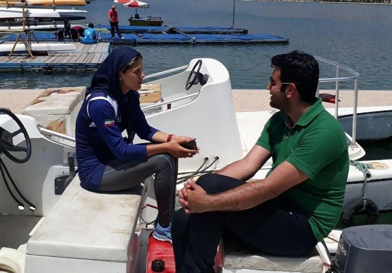 قایقرانی ایران با جهان فاصله دارد، امیدوارم در مسابقات آسیایی تایلند یک رکورد بزنیم