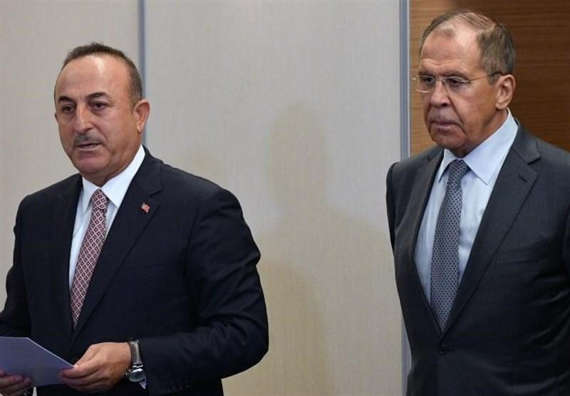ادامه بررسی اوضاع سوریه در مذاکرات تلفنی لاوروف و چاوش اوغلو