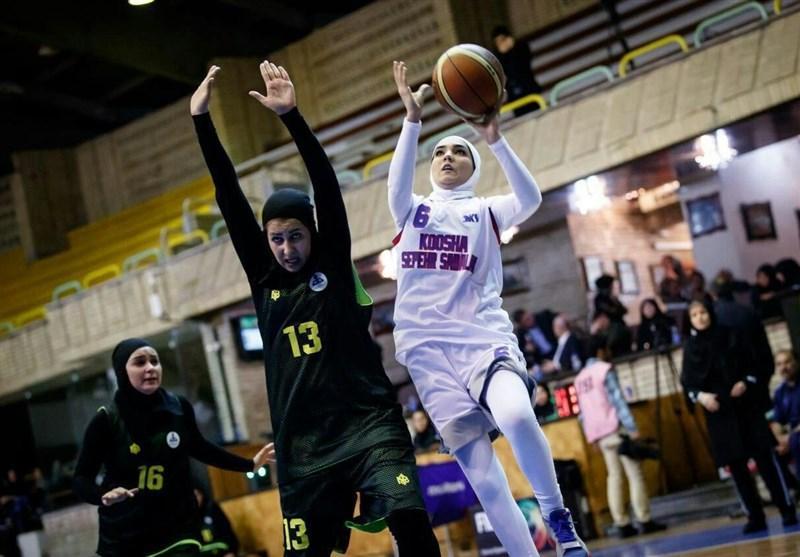 لیگ برتر بسکتبال بانوان، جدال گروه بهمن در آبادان برای تداوم صدرنشینی
