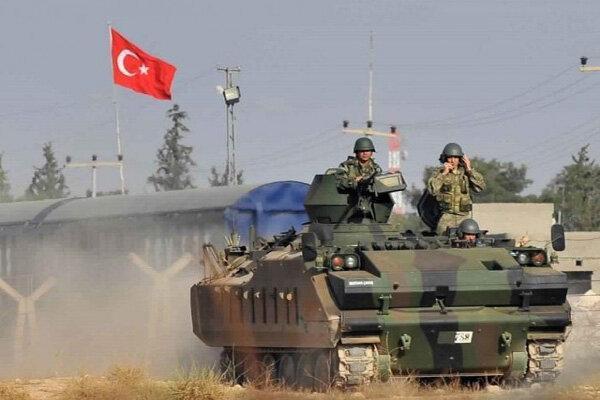 حملات توپخانه ای نظامیان ترکیه علیه روستاهای سوریه