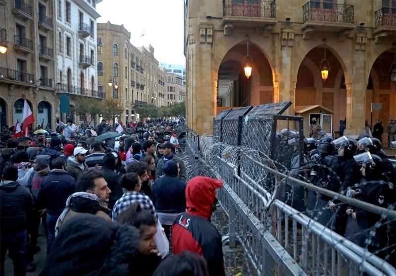 لبنان، دومین شب ناآرام بیروت