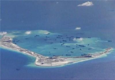 مانورهای مشترک روسیه و چین در دریای جنوبی چین