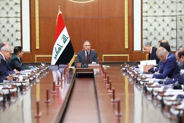 اولین جلسه دولت جدید عراق به ریاست الکاظمی
