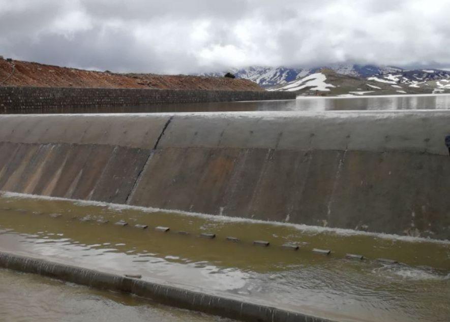 خبرنگاران بی رغبتی کشاورزان شیروانی به استفاده از آب سد گلیل