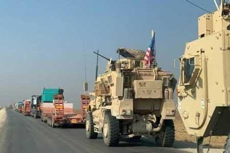 آمریکا یک کاروان حامل سوخت از سوریه به عراق قاچاق کرد
