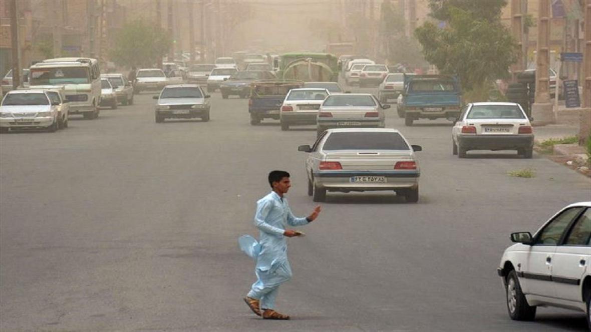 سرعت وزش باد در زابل به 96 کیلومتر بر ساعت رسید
