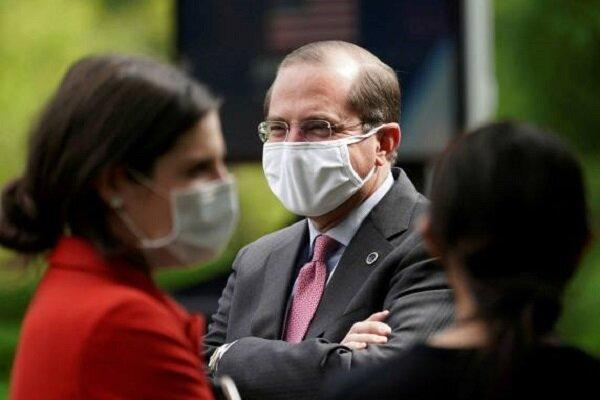 وزیر بهداشت آمریکا وارد تایوان شد