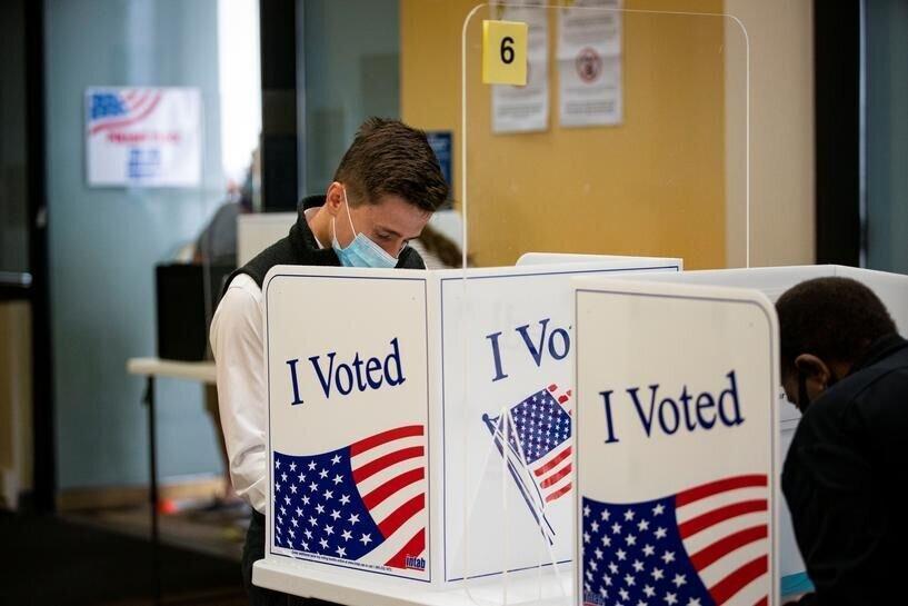 ارقام بی سابقه رای گیری در آمریکا