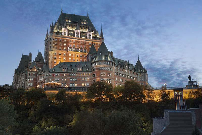 لوکس ترین هتل های کبک در قدیمی ترین بناهای این شهر، بهترین هتل های شهر برای گردشگران