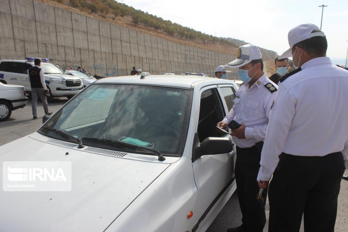 خبرنگاران جاده های مازندران بر روی خودروهای پلاک تهران و البرز بسته شد