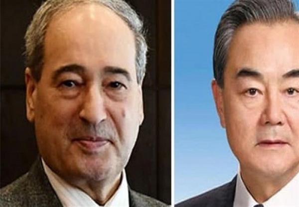 آمادگی سوریه برای همکاری با چین و ادامه هماهنگی در محافل بین المللی