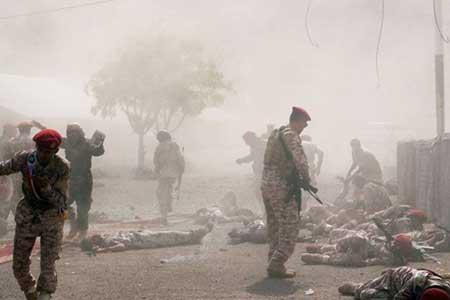 حمله موشکی ارتش یمن به نشست سرکرده های ائتلاف سعودی