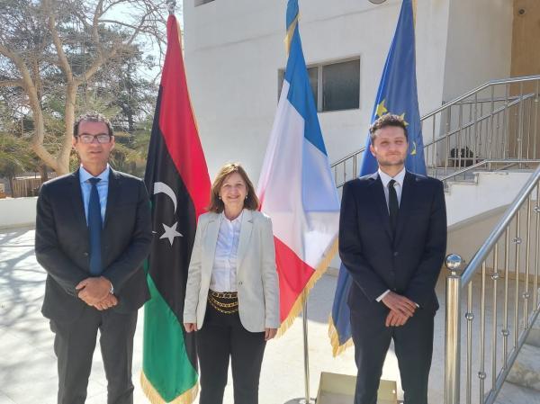 بازگشایی سفارت فرانسه در لیبی