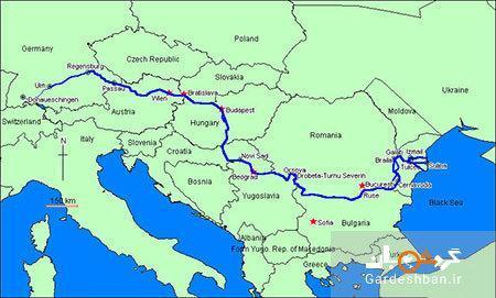 رودخانه دانوب؛دومین رود طولانی اروپا
