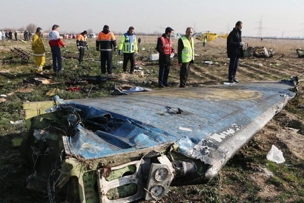 گزارش نهایی سقوط هواپیمای اوکراینی منتشر شد