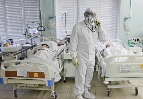 ادامه فرایند رو به کاهش موارد روزانه ابتلا به کرونا در روسیه