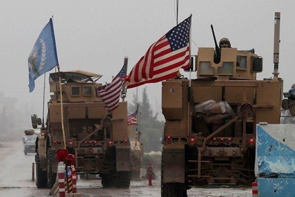 اعزام کاروان نظامی آمریکا به شهر الشداده در شمال سوریه
