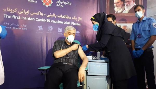 تزریق واکسن کوو ایران برکت به 10 هزار داوطلب تا انتها اردیبهشت