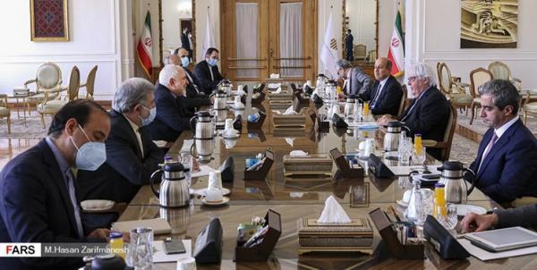 ظریف در ملاقات گریفیتس: جنگ، راه چاره بحران یمن نیست