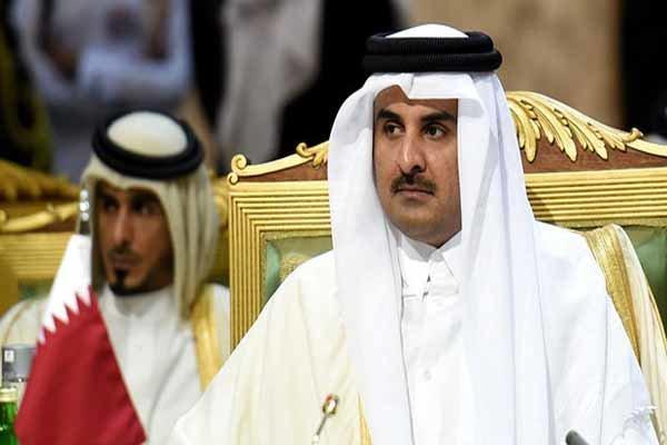 تاکید امیر قطر بر تشکیل سریع دولت جدید لبنان