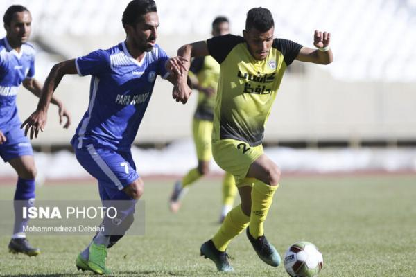 نتایج هفته بیست ودوم لیگ یک فوتبال، شانس فجر سپاسی برای صعود کمرنگ شد