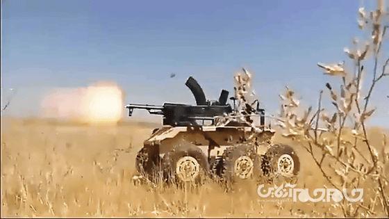 حیدر، 1: خودرو نظامی بدون سرنشین ایرانی برای مقابله با تانک و خودروهای زرهی
